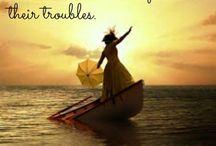 Inspirational sayings....