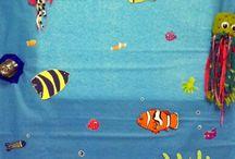 moře, mořská zvířata