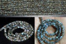 Gemstone & Gemhub / New archive of rondelle faceted beads Gemstone.