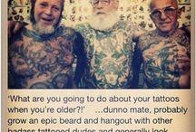 Tattoos / by Arreal Blakesley