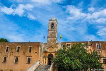 Μονή Αγίας Τριάδας Τζαγκαρόλων, Χανιά - Κρήτη / Monastery of Agia Triada Tzagaroli, Chania - Crete