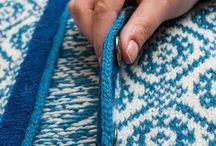 Montering av strikketøy