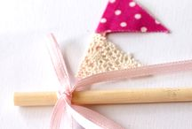 Bye Bye Baby Bunting  / I love all kinds of bunting, garland, and pennants!  / by Lindsey Bremner