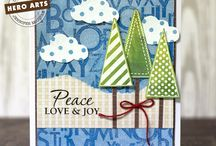 Cardmaking / Cards, stamping, Copic coloring markers, distressed