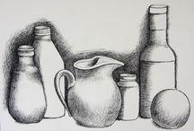 Kuvis: Piirustus; piirtimet
