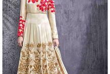 Latest Anarkali Suits Online / Checkout the latest stunning Anarkali Suits Online @ http://www.inddus.com/salwar-kameez/anarkali-suits.html