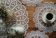 My doilies Мои салфетки / салфетки, воротнички, скатерти ручной работы.