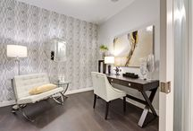 Wallpaper ideas / Find inspiration and create a beautiful wallpapered accent wall!