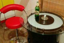 bar designs/ man cave  ..Beatles themes/ drum table /cavern club