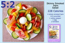 5:2 recipes / by Lori Mittan