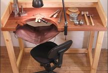 leather catch workbench