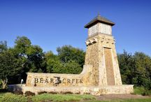 Bear Creek Ranch / Bear Creek Ranch is situated across 174 acres in Lancaster Texas.  Bear Creek Ranch is a community that features 349 developed lots. With its abundant creeks, trees and rich historical heritage, Lancaster offers the look and feel of centuries past with all of the modern conveniences. Lancaster is located just 15 minutes South of downtown Dallas; Bear Creek Ranch is a charming community offering natural and man-made amenities sure to delight everyone in your family.