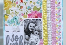 Scrapbooking :: Bold Patterned Papers / by Shimelle Laine
