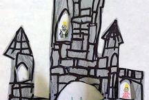 Ridders en kastelen.