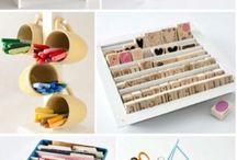 organize crafts ✂
