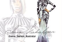 2016 spring summer / Fashionillustration