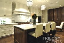 A Chef's Delight / Kitchens for entertaining and fine living.