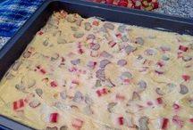Rhabarberkuchen einfach