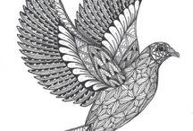 Tangled Dove...Jo Flockton...TAC