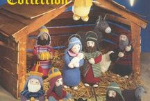 Crafts: Crochet/knit Nativity