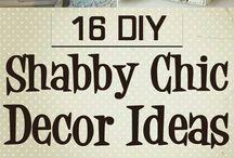 Shabby chic décor