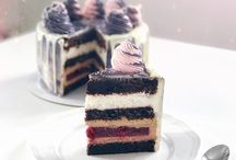 разрезы тортиков