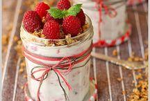 Desserts in a jar