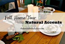 Fall/Autumn Home Love / This board is all about Fall Decorating in your home.