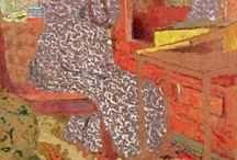VUILLARD / One of my favorite painters. He can even make gloom look fascinating.
