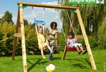 ► swings / Swings are a children's favourite and an excellent source of active enjoyment. Our swings can also be customised with extra Monkey Bars, Ring Trapezes, Sling Swings or Twist Disk seats, and Baby Swing seats for little monkeys. Go to our website for our extended product range.