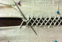 Ajurla kumaş birleştirme
