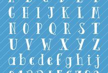 文字、装飾
