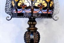 Tiffany Lamps/Vases