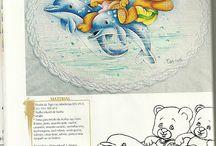 pintura en tela infantil 1