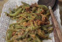Feijão verde c farinheira