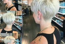 kort blond haar