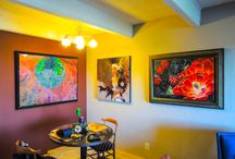 Home Installation / AUM Framing & Gallery home installations for customers