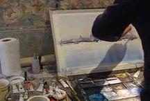 Art demonstration