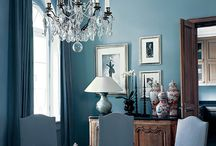Color in interior / colors and color schems in design (luminaries, furniture, accessorise)