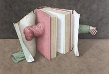 Jonathan Wolstenholme. Books described by books  / Books described by books – fantastic illustrations by Jonathan Wolstenholme
