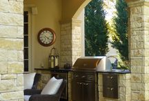 Dream Outdoor Grills / Dare to dream! Inspiration for the ultimate outdoor kitchen. What's your dream?