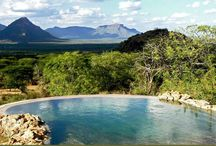 Lowis & Leakey | Swimming pools in Africa / W get creative when we build swimming pools in Africa - and they are often the perfect spot from which to watch game during the heat of the day.