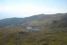 Glacial lakes on mountain Jablanica / On this mountain you can find four glacial lakes.