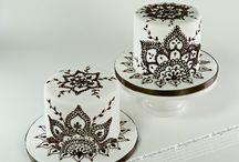 Mehndi cakes