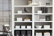 Book shelving styles