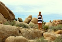 Spring Summer 2014 / The White Collection - pictures taken in California and Nevada