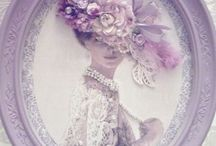Lavender color фиолетовый лавандовый