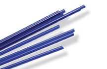 Cane: Blue Transparent System 96 Lampworking Cane / System 96 Lampworking Cane. 96 COE.
