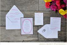 Invitation Innovations / Fun wedding stationery