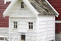 poulailler petites maisons avec volière